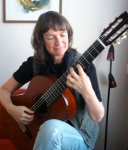 Annette Kruisbrink guitarist